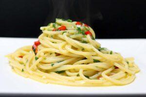 paste aglio olio peperoncino